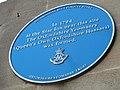 Blue plaque in Cornmarket Street - geograph.org.uk - 2427917.jpg