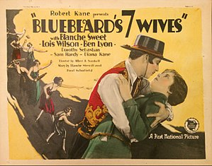 Bluebeard's Seven Wives - Lobby card