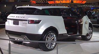 Range Rover Evoque - Land Rover LRX Concept
