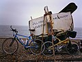 Boat and Bikes at Dunwich - geograph.org.uk - 20679.jpg