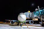 Boeing 787 Dreamliner at Riga Airport (32457153336).jpg