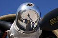 Boeing B-17G-85-DL Flying Fortress Nine-O-Nine Spinner reflection CFatKAM 09Feb2011 (14983558602).jpg