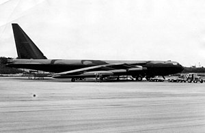 822d Air Division - Boeing B-52D of the division's 484th Bombardment Wing deployed at Andersen AFB, Guam