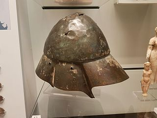 open helmet used in Classical Antiquity