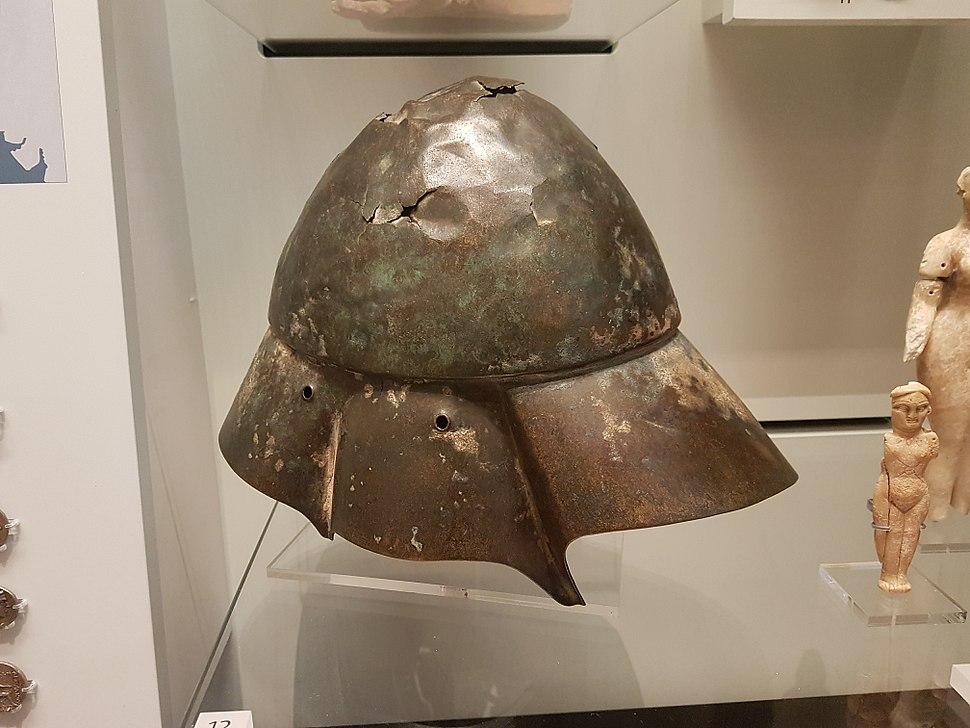 Boeotian helmet, 4th century BC