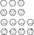 Bolt Nut Markings SAE and Metric.png