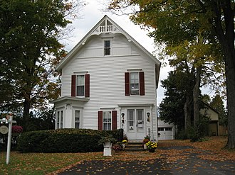 National Register of Historic Places listings in Herkimer County, New York - Image: Bonfoy–Barstow House Oct 09