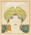 Book Illustration, Les choses de Paul Poiret vues par Georges Lepape (Items by Paul Poiret as seen by George Lepape), Woman in a Turban, plate 6, 1911 (CH 68775933).jpg