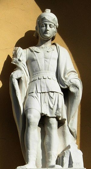 Saint Donatus of Muenstereifel - Image: Bornheim Donatus