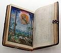 Bottega di simon bening, libro d'ore detto di don fernando, 1530-34, creazione degli animali 01.jpg