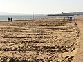 Bournemouth, a Christmas stroll on the beach - geograph.org.uk - 1632605.jpg