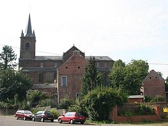 Boussoit - Boussoit, the Church.