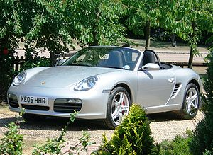The 987, the 2006 Boxster model
