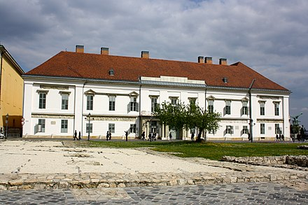 Sandor Palace is the official residence of the President of Hungary Bp Sandor Palace.jpg