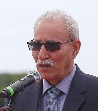 President of the Sahrawi Arab Democratic Republic - Image: Brahim Ghali