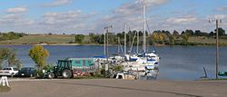 Branched Oak Lake marina 1