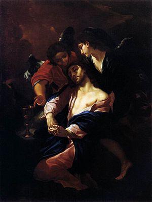 Giacinto Brandi - Christ in Gesthemane, Pinacoteca Vaticana