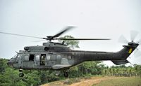 AS 332 of the Brazilian Air Force