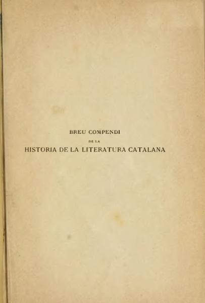 File:Breu compendi de la historia de la literatura catalana (1900).djvu