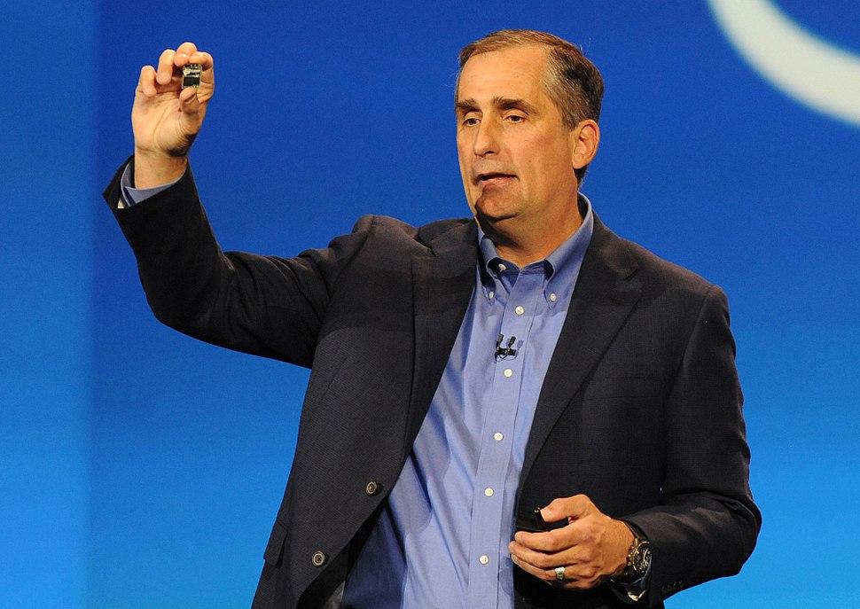 Brian Krzanich, Intel Chief Executive Officer