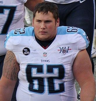 Brian Schwenke - Schwenke with the Titans in 2013