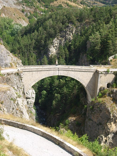 Photo - Pont d'Asfeld sur la Durance