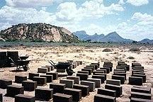 Contea di Samburu--brick construction samburu