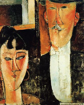 Jacques and Berthe Lipchitz - Image: Bride and Groom
