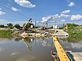 Bridge under construction in Nowy Korczyn, Poland, 2019, 04.jpg