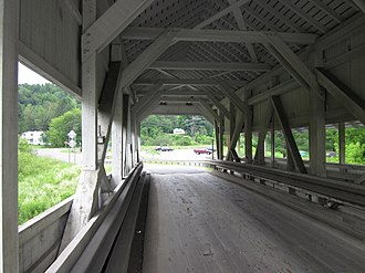 National Register of Historic Places listings in Caledonia County, Vermont - Image: Bridges in Lyndonville, Vermont