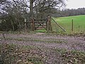 Bridle gate near Newhouse Farm - geograph.org.uk - 2248966.jpg