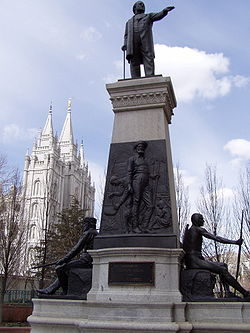 Brigham Young Monument Wikipedia