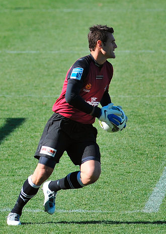 Michael Theo - Theo playing for Brisbane Roar in 2011