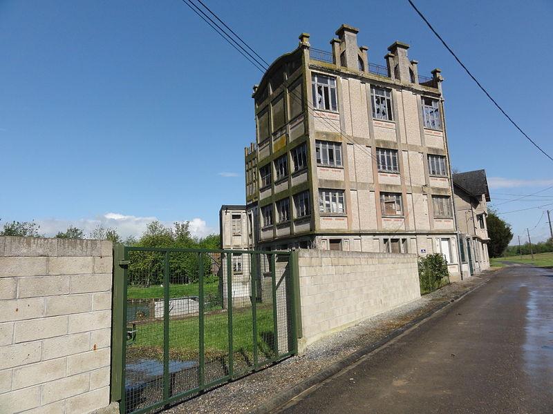 Brissay-Choigny (Aisne) moulin