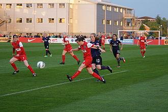 Bristol City W.F.C. - Bristol Academy at home to Arsenal Ladies, May 2013
