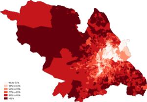 Demography of Sheffield - Image: British Sheffield 2011 census