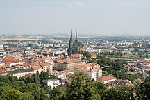 Tšekki-Väestö-Brno View from Spilberk 131