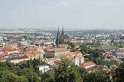 Centrum Brna ze Špilberku