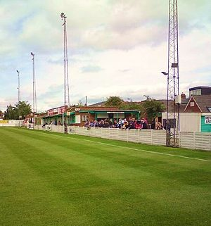 Bromsgrove Rovers F.C. - Victoria Ground clubhouse