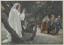 Jesus aparece para as mulheres