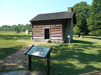Battle of Chickamauga - Brotherton Cabin