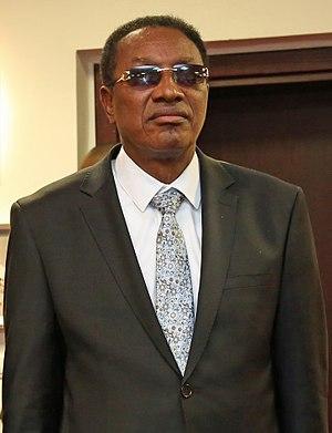 Prime Minister of the Democratic Republic of the Congo - Image: Bruno Tshibala
