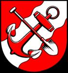 Das Wappen von Brunsbüttel