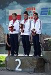 Brytyjskie kajakarki w konkurencji K1 (9212190905).jpg
