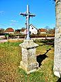 Bucey-lès-Traves. Croix de chemin, rue d'Aroz. (2). 2015-03-05..JPG