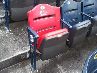 Kauffman Stadium - The O'Neil legacy seat.