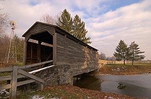 Warwick Township, Lancaster County, Pennsylvania - Buck Hill Farm Covered Bridge in Warwick Township