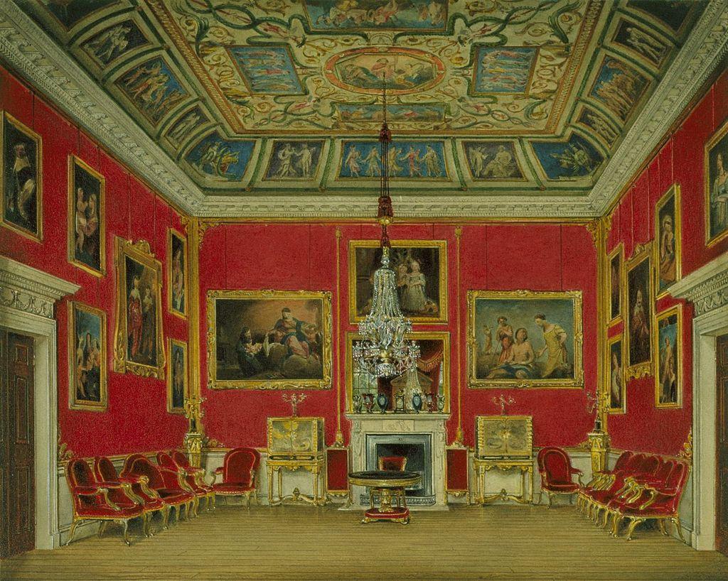 Букингемский дом, Вторая гостиная, Джеймс Стефанофф, 1818 - королевский колл 922143 257072 ORI 1.jpg