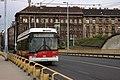 Budapešt, Ferdinand híd, trolejbus.jpg