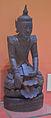 Buddha - Wood - 17th Century CE - Myanmar - ACCN 7927 - Indian Museum - Kolkata 2016-03-06 1825.JPG